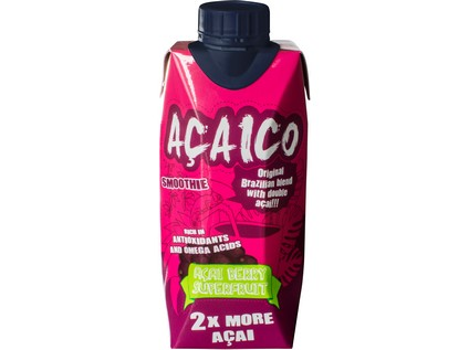 Acaico smoothie superfruit drink 330ml - 6198_ACAICO_SMOOTHIE_330ML