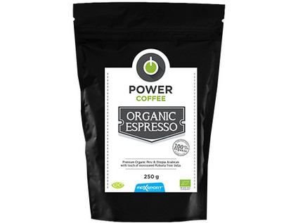Power Coffee – Organic espresso 250 g - 6458_MAXSPORT_POWER-COFEE