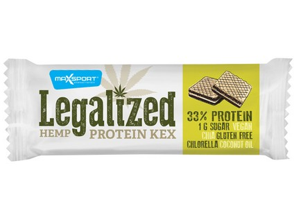 Legalized konopný kex 45g - 6870_MAXSPORT_LEGALIZED-HEMP-PROTEIN-KEX_45G
