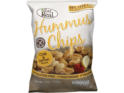 Hummus chipsy – chilli a citron 45g - 7121_EAT-REAL_HUMMUS-CHIPSY_CHILLI-A-CITRON-45G
