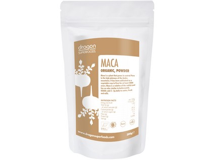 Prášek Maca Bio Raw 200g - 7316_DRAGON-SUPERFOODS_PRASEK-MACA_BIO_RAW_200G