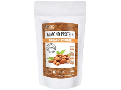 Protein Mandlový Bio Raw 200g - 7319_DRAGON-SUPERFOODS_PROTEIN-MANDLOVY_BIORAW_200G
