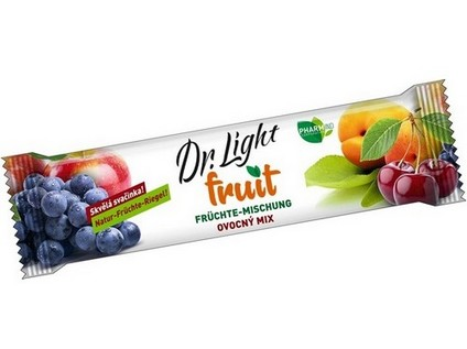 Ovocná tyčinka Dr.Light Fruit Ovocný mix 30g - 7463_DR-LIGHT_CVOCNA-TYCINKA-FRUIT-OVOCNY-MIX_30G