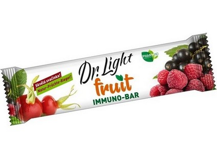 Ovocná tyčinka Dr.Light Fruit IMMUNO-BAR 30g - 7466_DR-LIGHT_CVOCNA-TYCINKA-FRUIT-IMMUNO-BAR_30G