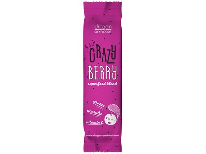 Prášek Crazy Berry na přípravu nápoje BIO RAW 10g - 7483_DRAGON-SUPERFOODS_PRASEK-CRAZY_BERRY_BIO_RAW_10G
