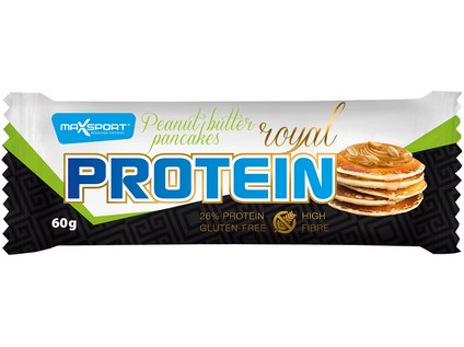 Royal protein delight Peanut butter pancakess 60g - 7615_MAX-SPORT_ROYAL-PROTEIN-DELIGHT_PEANUT-BUTTER-PANCAKESS_60G