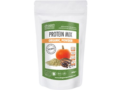 Protein mix BIO/RAW 200g - 7647_DRAGON-SUPERFOODS_PROTEIN_MIX_BIO-RAW_200G