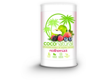 COCO natural 140g Tubus Redberries mix - instantní kokosová voda - 7657_ALTEVITA_COCO-NATURAL_REDBERRIES-MIX _TUBUS_140G
